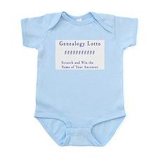 Genealogy Lotto Infant Creeper