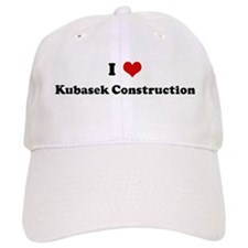 I Love Kubasek Construction Baseball Cap