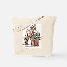 Genealogists Don't Die Tote Bag