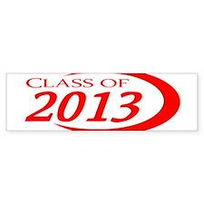 Class of 2013 Bumper Bumper Sticker