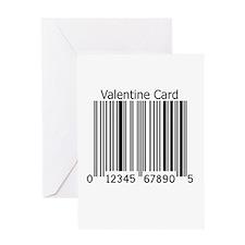 Bar Code Valentine Card