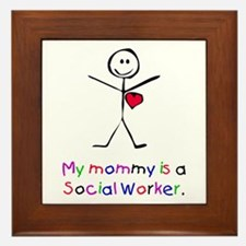 My Mommy is a SW Framed Tile