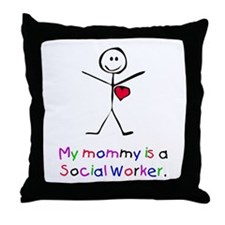 My Mommy is a SW Throw Pillow
