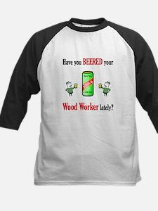 Wood Worker Kids Baseball Jersey