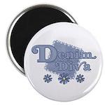 Denim Diva Magnet