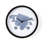 Denim Diva Wall Clock