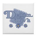 Denim Diva Tile Coaster
