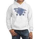 Denim Diva Hooded Sweatshirt