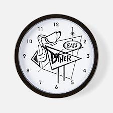 Waitress Wall Clock