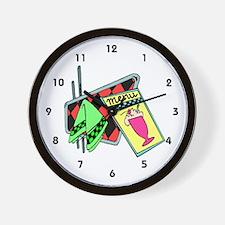 Restaurant Manager Wall Clock