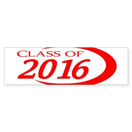 Class of 2016 Bumper Sticker