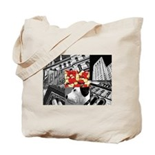 Albany Collage Tote Bag