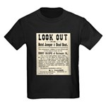 Look Out Dead Beat Kids Dark T-Shirt