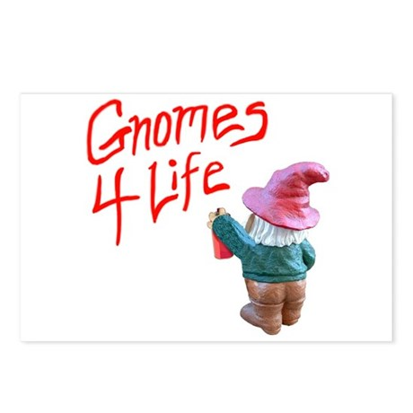 Gnome Graffiti Postcards (Package of 8)