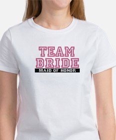 Team Bride: Maid of Honor Women's T-Shirt