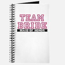 Team Bride: Maid of Honor Journal
