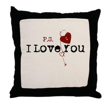 PS I Love You Throw Pillow