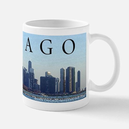 Shed Aquarium w/ Skyline Mug
