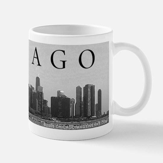 Shed Aquarium w/ Skyline 11oz Mug