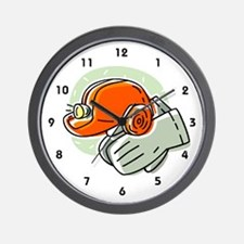 Miner Wall Clock