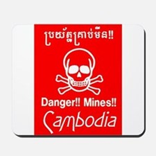 Cambodian Mines Mousepad