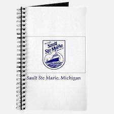 Sault Ste Marie MI Flag Journal