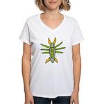 Fun Bug Women's V-Neck T-Shirt