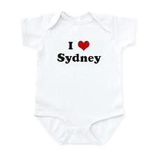 I Love Sydney Infant Bodysuit