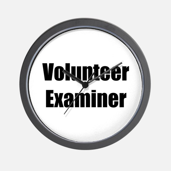 Volunteer Examiner Wall Clock