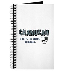Chanukah The C Is Silent Journal