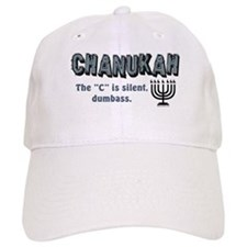 Chanukah The C Is Silent Cap