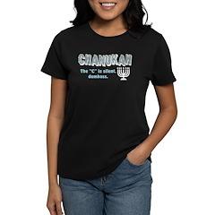 Chanukah The C Is Silent Tee