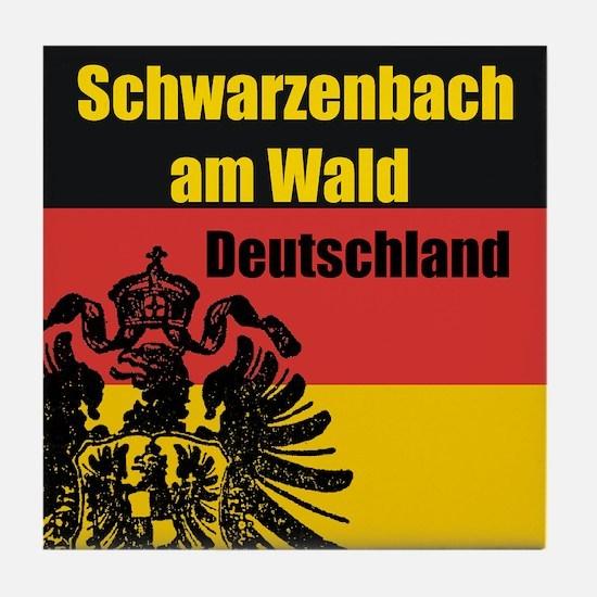 Schwarzenbach am Wald  Tile Coaster