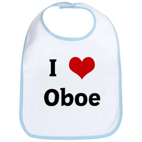 I Love Oboe Bib