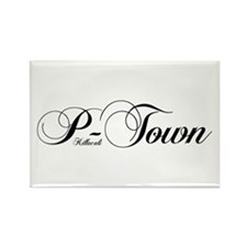 P-Town Uptown Rectangle Magnet