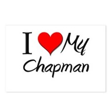 I Heart My Chapman Postcards (Package of 8)