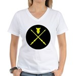 Equestrian Marshal Women's V-Neck T-Shirt