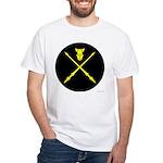 Equestrian Marshal White T-Shirt
