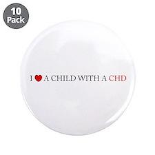 """CHD 3.5"""" Button (10 pack)"""