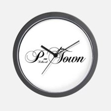 Pacifica Uptown Wall Clock
