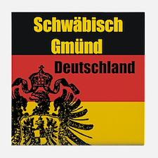 Schwäbisch Gmünd Deutschland Tile Coaster