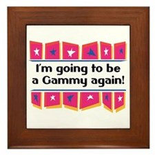 I'm Going to be a Gammy Again! Framed Tile