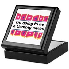 I'm Going to be a Gammy Again! Keepsake Box