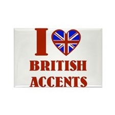 I love British Accents Magnet