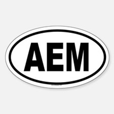 aem bumper stickers car stickers decals more. Black Bedroom Furniture Sets. Home Design Ideas