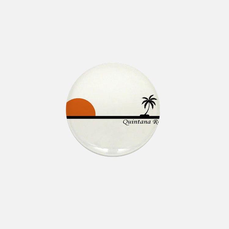 Quintana Roo, Mexico Mini Button