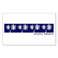 Loreto, Mexico Rectangle Decal