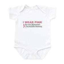 Pink For My Momma's Bravery 1 Infant Bodysuit