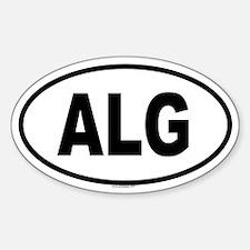 ALG Oval Bumper Stickers