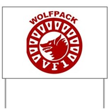 VF 1 Wolfpack Yard Sign